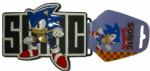 Sega Sonic the Hedgehog Belt Buckle - Officially Licensed